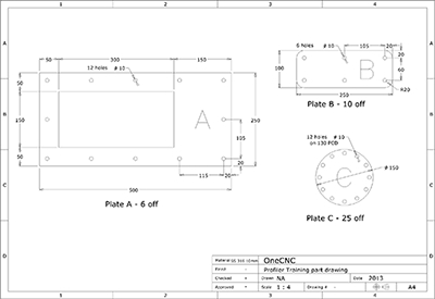 CAD/CAM Profiler Software OneCNC